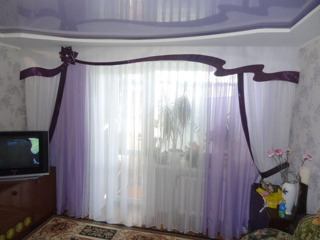 Пошив штор и декора